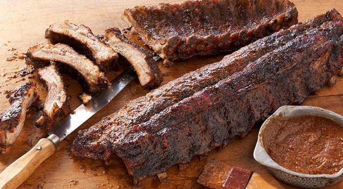 Coffee-Rubbed Ribs with Coffee Barbecue Sauce - Fireside of Bend ...