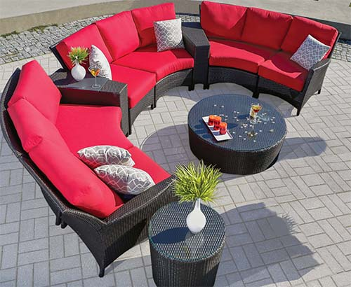 Traditionally, Patio Furniture Has Been Little More Than A Table And Four  Chairs. In Many Homes Today, Patio Furniture Has Expanded To Include Living  ...